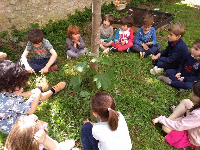 Activité 'À l'écoute de la nature, les mains dans la terre' par Apprends et Rêve, activités pour enfants et ados à Paris