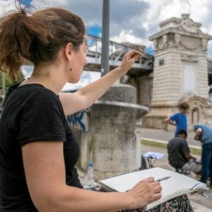 Une image de l'activité Savoir dessiner, savoir regarder: un jour, une technique organisée par Apprends et Rêve, activités pour enfants et ados à Paris